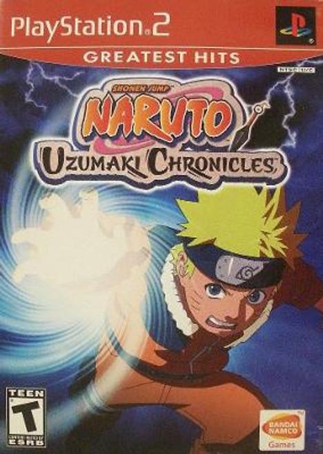 Naruto: Uzumaki Chronicles - PS2 - Greatest Hits - USED