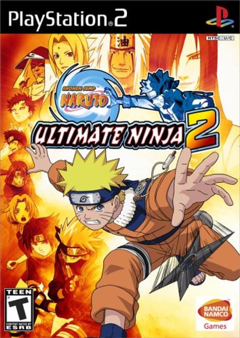 Naruto: Ultimate Ninja 2 - PS2 - USED