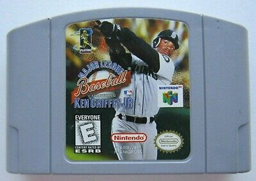 Major League Baseball Featuring Ken Griffey Jr. - N64 - USED - INCOMPLETE