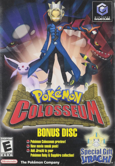 Pokemon Colosseum: Bonus Disc - Gamecube - USED