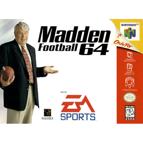 Madden 64 - N64 - USED