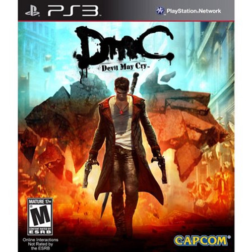 DmC: Devil May Cry - PS3 - USED
