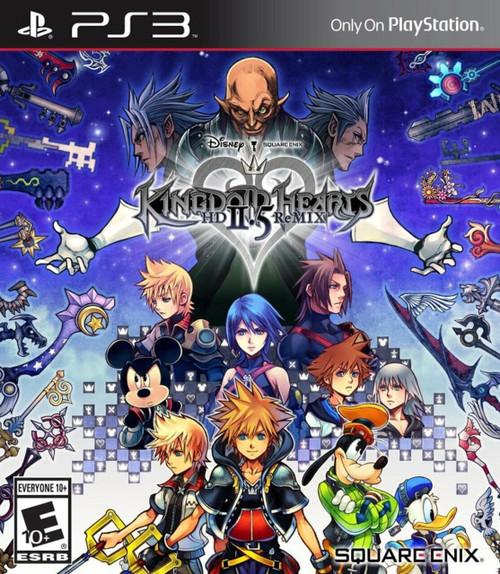 Kingdom Hearts HD 2.5 ReMIX - PS3 - USED