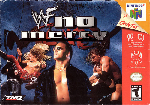 WWF: No Mercy - N64 - USED - INCOMPLETE