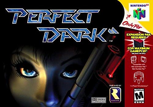 Perfect Dark - N64 - USED - INCOMPLETE