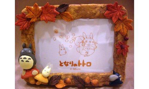 """My Neighbor Totoro """"Autumn Frame"""" - 5"""" x 3.5"""""""
