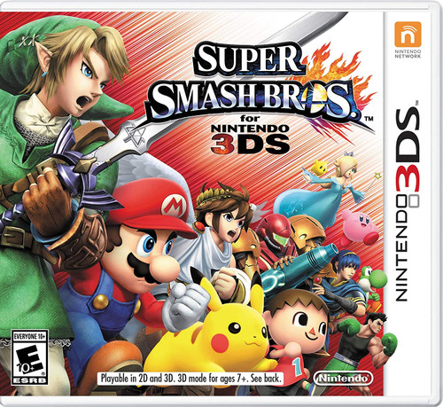 Super Smash Bros. for 3DS - 3DS - USED