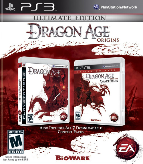 Dragon Age: Origins - Ultimate Edition - PS3 - USED