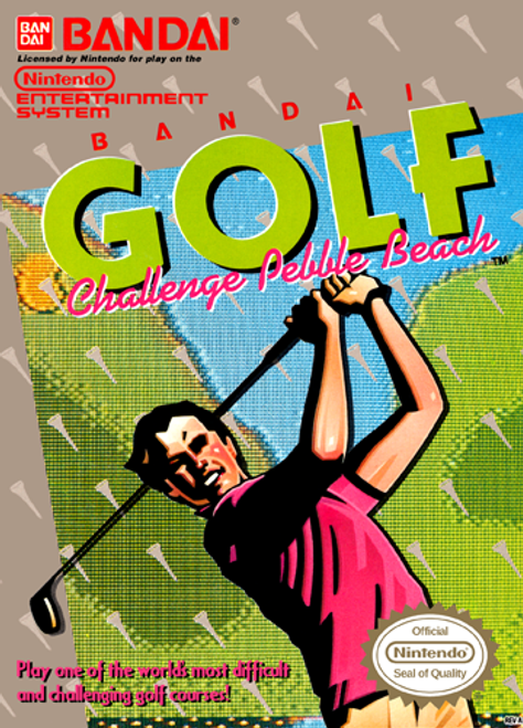 Bandai Golf Challenge Pebble Beach - USED (INCOMPLETE)