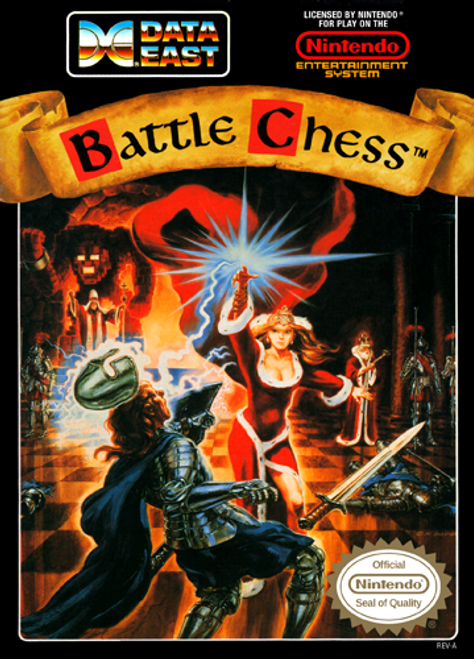 Battle Chess - NES USED (INCOMPLETE)