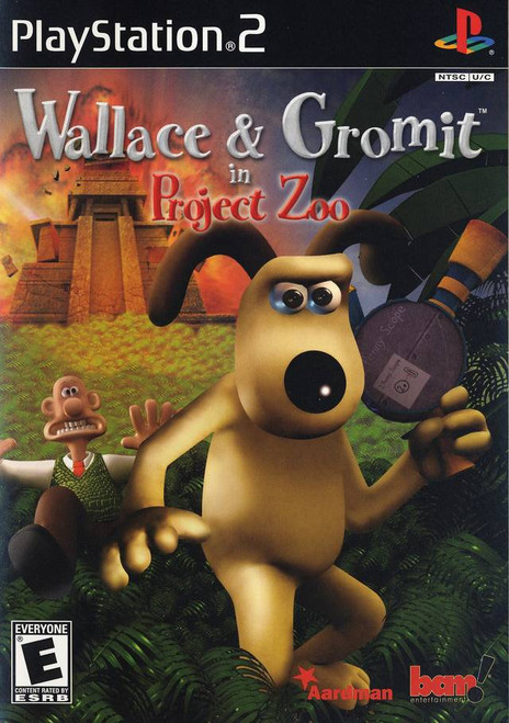 Wallace & Gromit in Project Zoo - PS2 - USED