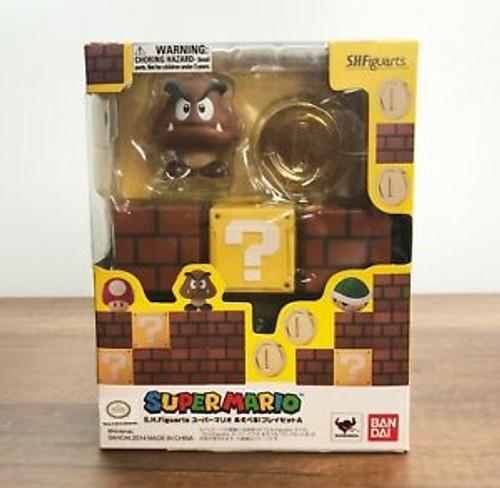 Bandai S.H. Figuarts - Super Mario (Goomba/Blocks/Coin)
