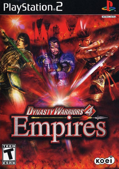 Dynasty Warriors 4: Empires - PS2 - USED