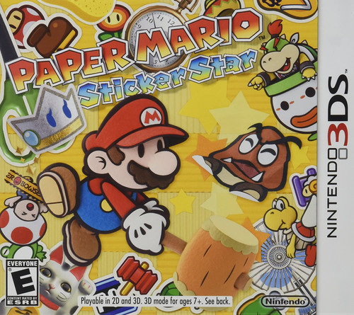 Super Mario: Sticker Star - 3DS - USED