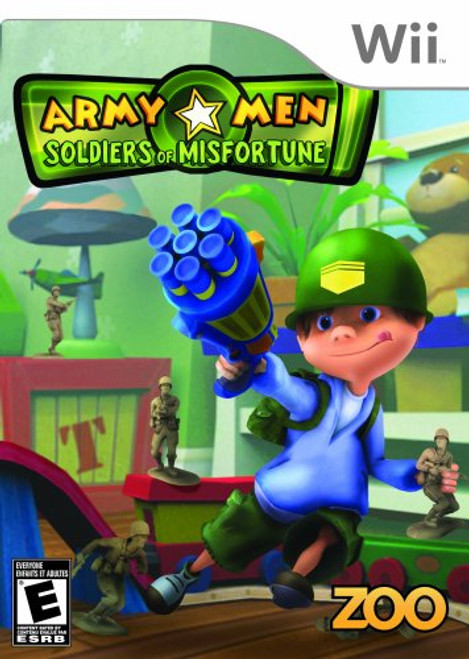 Army Men: Soldiers of Misfortune - Wii - USED