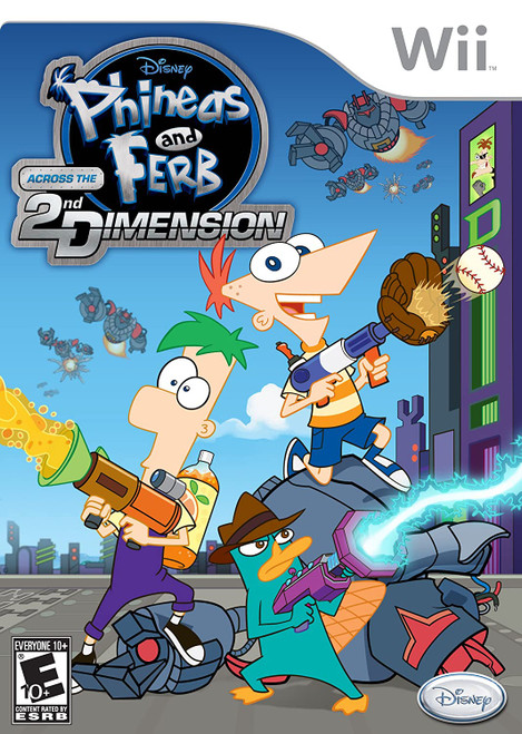 Phineas and Ferb: Across the 2nd Dimension - Wii - USED