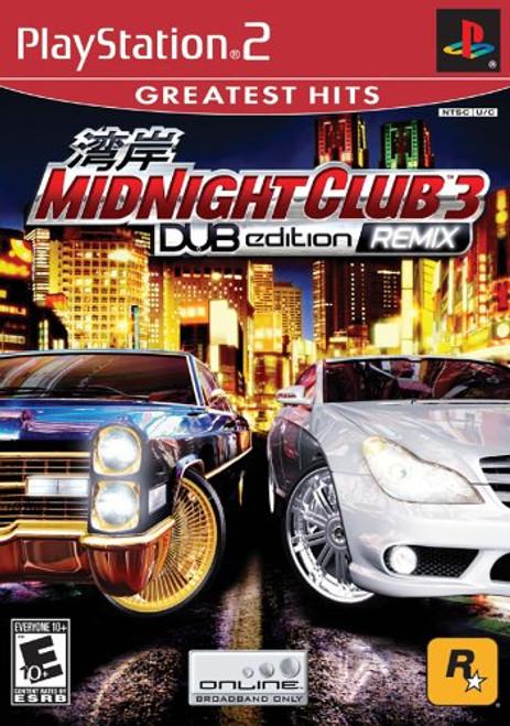 Midnight Club 3: DUB Edition REMIX - Greatest Hits - PS2 - NEW!