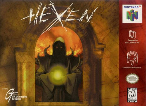Hexen - N64 - USED (INCOMPLETE)