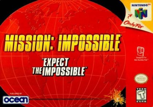 Mission Impossible - N64 - USED (INCOMPLETE)