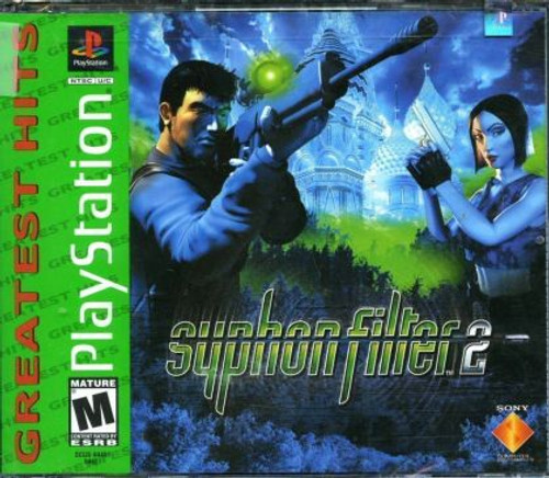 Syphon Filter 2 - Greatest Hits - PS1 - USED