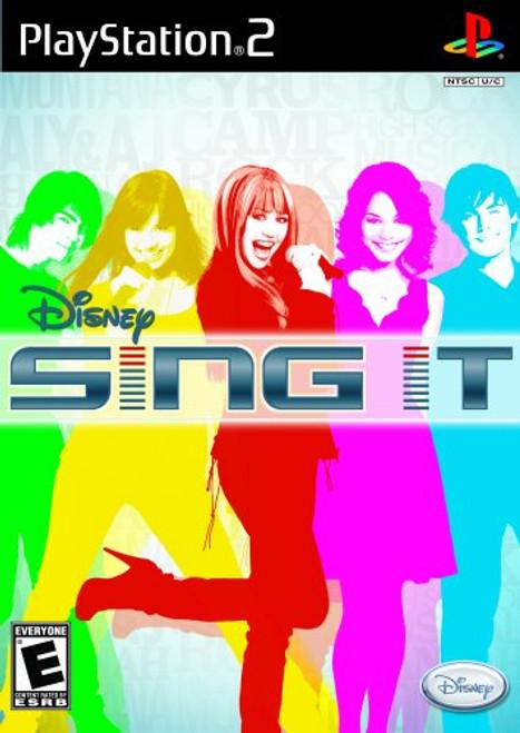 Disney: Sing It! - PS2 - USED