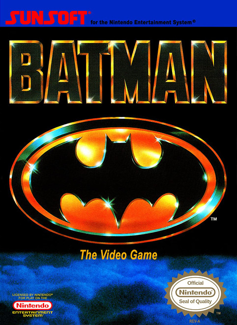 Batman: The Video Game - NES - USED (INCOMPLETE)