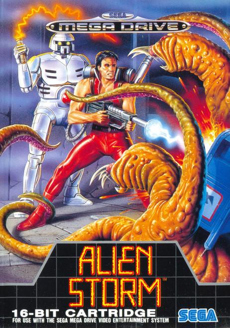 Alien Storm - Sega Genesis - USED (INCOMPLETE)