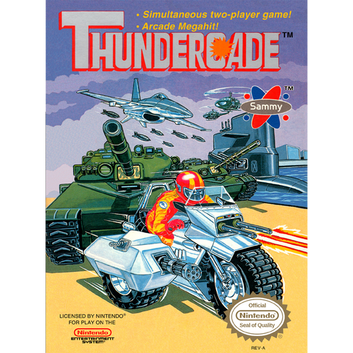 Thundercade - NES - USED (INCOMPLETE)