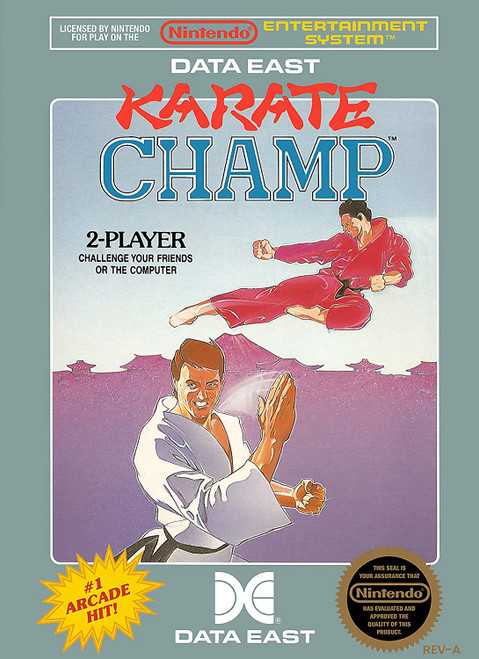 Karate Champ - NES - USED (INCOMPLETE)