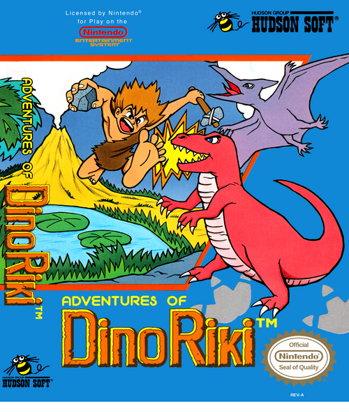The Adventures of Dino Riki - NES - USED (INCOMPLETE)