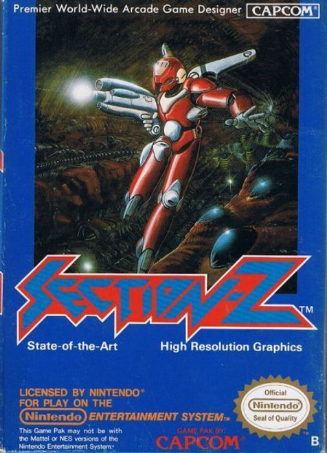 Section Z - NES - USED (INCOMPLETE)
