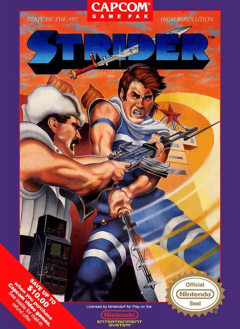 Strider - NES - USED (INCOMPLETE)