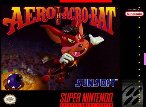 Aero the Acro-Bat - SNES - USED (INCOMPLETE)