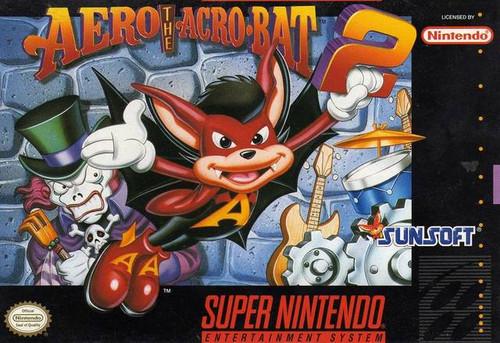Aero the Acro-Bat 2 - SNES - USED (INCOMPLETE)