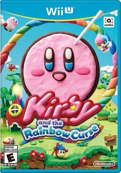 Kirby and the Rainbow Curse - Wii-U