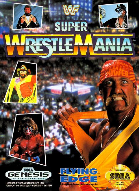 WWF Super WrestleMania - Sega Genesis - USED (INCOMPLETE)