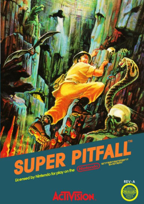 Super Pitfall - NES - USED (INCOMPLETE)