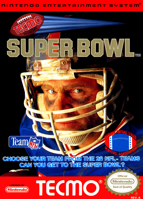 Tecmo Super Bowl - NES - USED (INCOMPLETE)