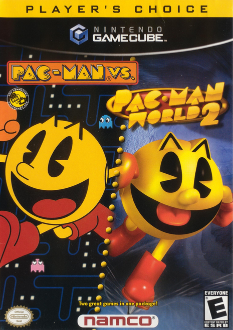 Pac-Man Vs. / Pac-Man World 2 - Gamecube - Player's Choice - USED (INCOMPLETE)