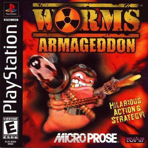 Worms: Armageddon - PS1 - USED