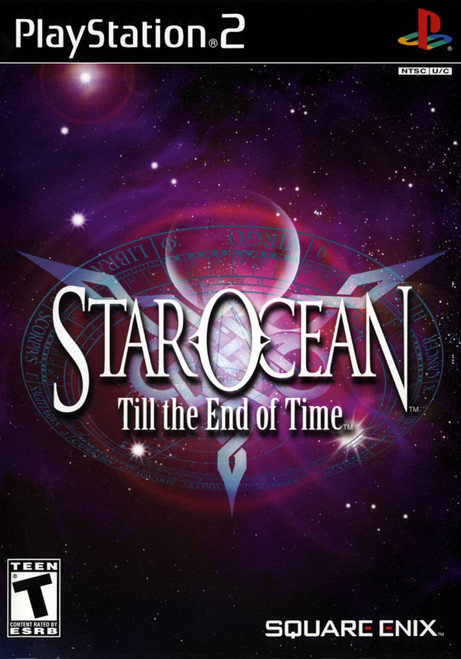 Star Ocean: Till The End of Time - PS2 - USED