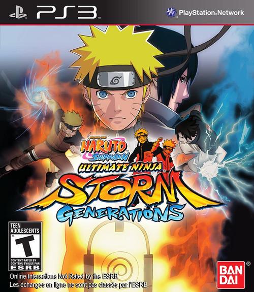 Naruto: Ultimate Ninja Storm: Generations - PS3 - USED