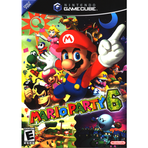 Mario Party 6 - Gamecube - USED (WITH MICROPHONE)