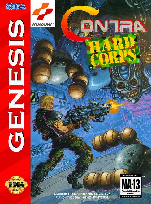 Contra: Hard Corps - Sega Genesis - USED (INCOMPLETE)