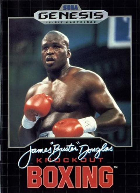 "James ""Buster"" Douglas Knockout Boxing - Sega Genesis - USED (INCOMPLETE)"