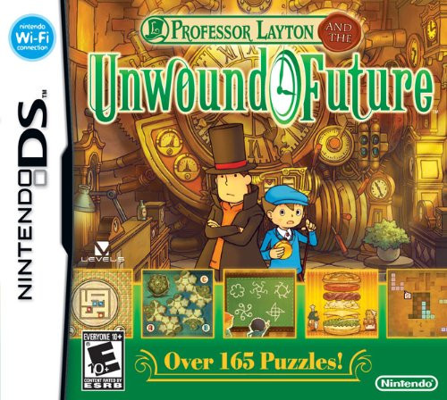 Professor Layton and the Unwound Future - DS - USED