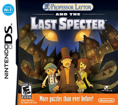 Professor Layton and the Last Specter - DS - USED