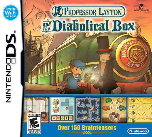 Professor Layton and the Diabolical Box - DS - USED