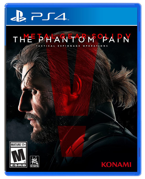 Metal Gear Solid V: The Phantom Pain - PS4 - USED