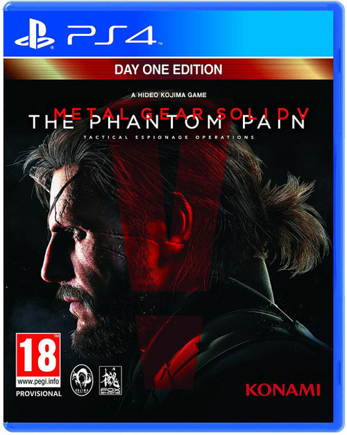 Metal Gear Solid V: The Phantom Pain - Day One Edition - PS4 - USED